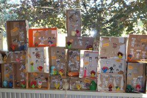 Cabinets de curiosités chez Natacha
