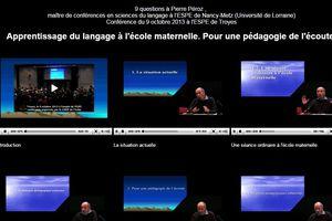 Pédagogie de l'écoute en langage selon P.Péroz par Mai