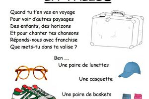 Paroles de la chanson La valise de Ph. Roussel par Denise43