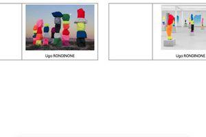 Etiquettes artistes pour porte manteau chez Maud