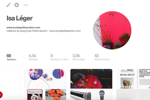 Pour retrouver les articles plus facilement, utilisons Pinterest