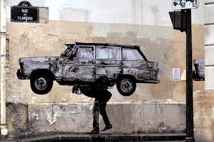 Enigme Street art