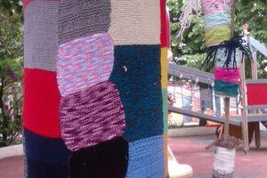 Projet laine chez Valérie93