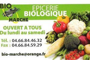 Vos courses Bio avec Bio Marché