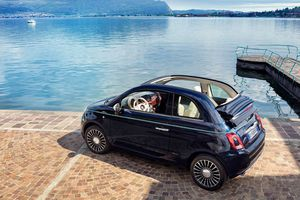 Fiat 500 Riva, l'annexe routière d'un yacht ou d'un superyacht