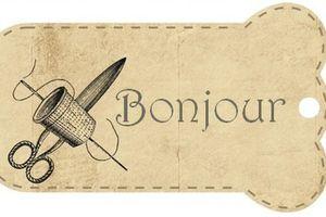 Jolis ciseaux - De Fil en Aiguille