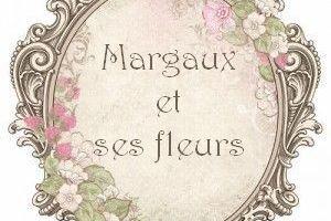Margaux et ses fleurs... anniversaire ...