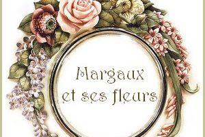 Margaux et ses fleurs... couronne fleurie