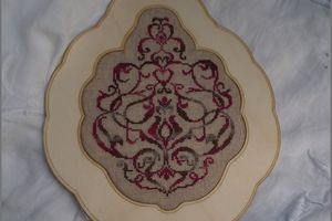Bouquet Baroque - Petit point Compté - finition