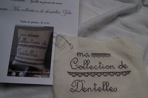 Collection de dentelles
