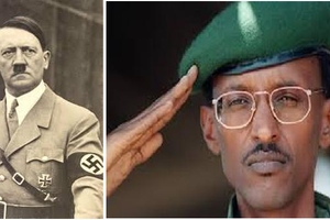 Adolf Hitler and Paul Kagame Comparison: These two men have a lot in common!