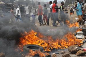 Guinée: incidents entre forces de l'ordre et manifestants