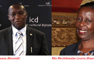 Igihugu cy'u Rwanda kirifuza ko mu Burundi haba jenoside (Amb. w'u Burundi mu Budage)