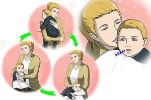 Comment faire roter son bébé