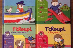 Tchoupi, le livre préféré de Poupette