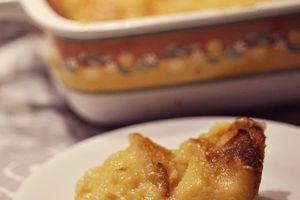 far aux pommes et au jus de pommes (sans lactose possible)