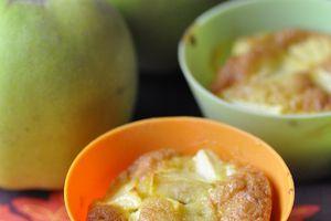 Les petits moelleux aux pommes de Brigitte