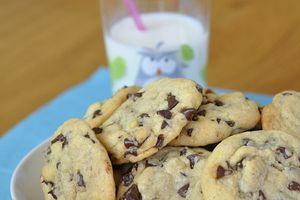 Cookies moelleux croustillants aux pépites de chocolat