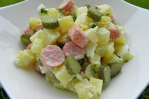 SALADE STRASBOURGEOISE (Thermomix)