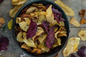 DIY: les chips de légumes home made