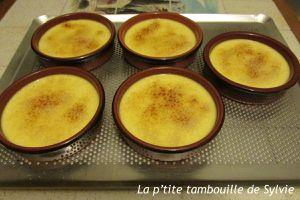 Crèmes brûlées de Sophie au Cook'in
