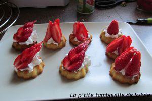 Délices amandes fraises