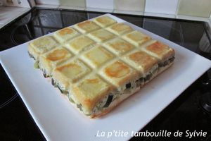 Croque-tablette jambon gouda