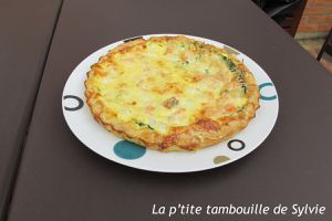 Tarte saumon-cabillaud-épinards