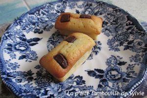 Moelleux compote et pépites de chocolat