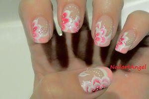 Nail art mariée