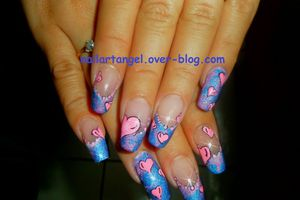 Nail art,nail art girly, nail art pas à pas,nail art facile nailartangel