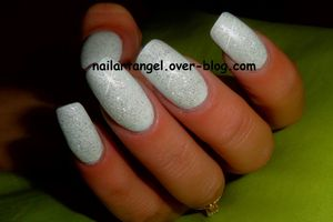 Nails, manucure élégante, swatch vernis blanc, nailartangel