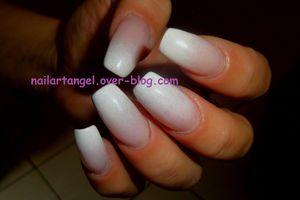Manucure, nail art babyboomer, nail art facile, nail art pas à pas
