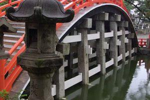 Osaka : Le sanctuaire Sumiyoshi Taisha (住吉大社) - Mariages traditionnels