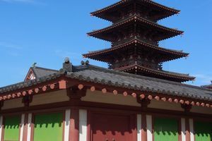 Osaka : Le plus ancien temple bouddhiste du Japon, le Shitennôji 四天王寺