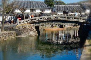 Préf d'Okayama : L'ancien quartier des marchands de la ville de Kurashiki 倉敷