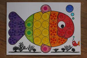Poisson coloré
