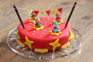 Gâteau d'anniversaire: Clowns du Cirque