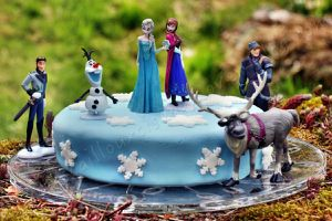 Anniversaire: La Reine des Neiges