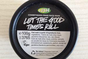 Let's the good time roll de chez Lush, le nettoyant coup de coeur!