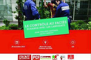 #Nosviesdabord : débat «Stop Contrôle au Faciès»