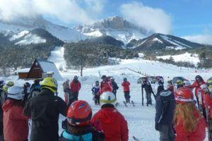 Les deux premières journées au ski. CM2 A