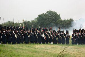 Reconstitution de la bataille de Ligny 2016
