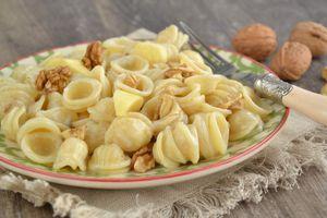 Orecchiette gorgonzola & poire