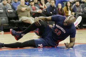 L'infirmerie des Pistons se remplit...