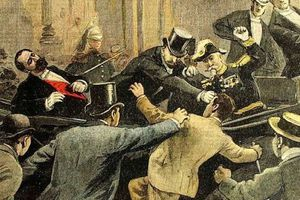24 juin 1894 - Assassinat de Sadi Carnot