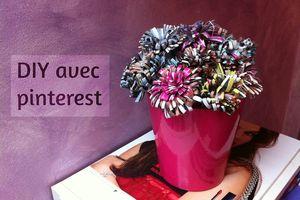 DIY fleurs 💐 |avec pinterest