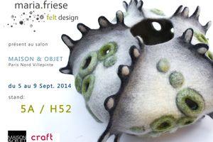 Maison & Objet Paris du 05 au 09 Septembre 2014