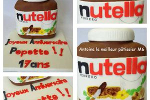 Le Nutella's cake