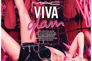 MAC with Miley Cyrus for Viva Glam
